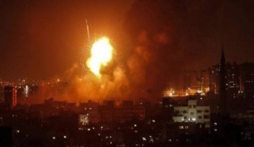 طائرات الاحتلال الإسرائيليّ تقصف قطاع غزة
