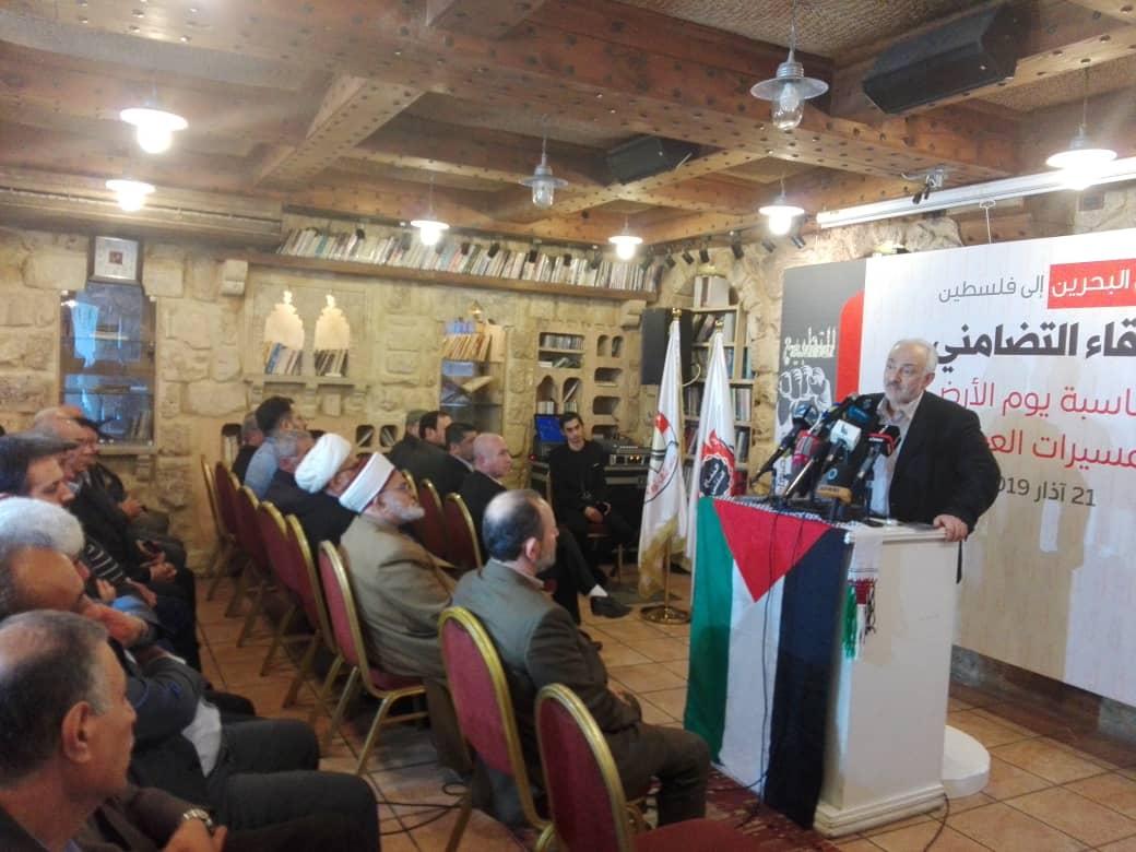 عضو المجلس السياسي في حزب الله د. حسن حبّ الله: أمريكا وأذنابها في المنطقة يسعون إلى تصفية القضيّة الفلسطينيّة