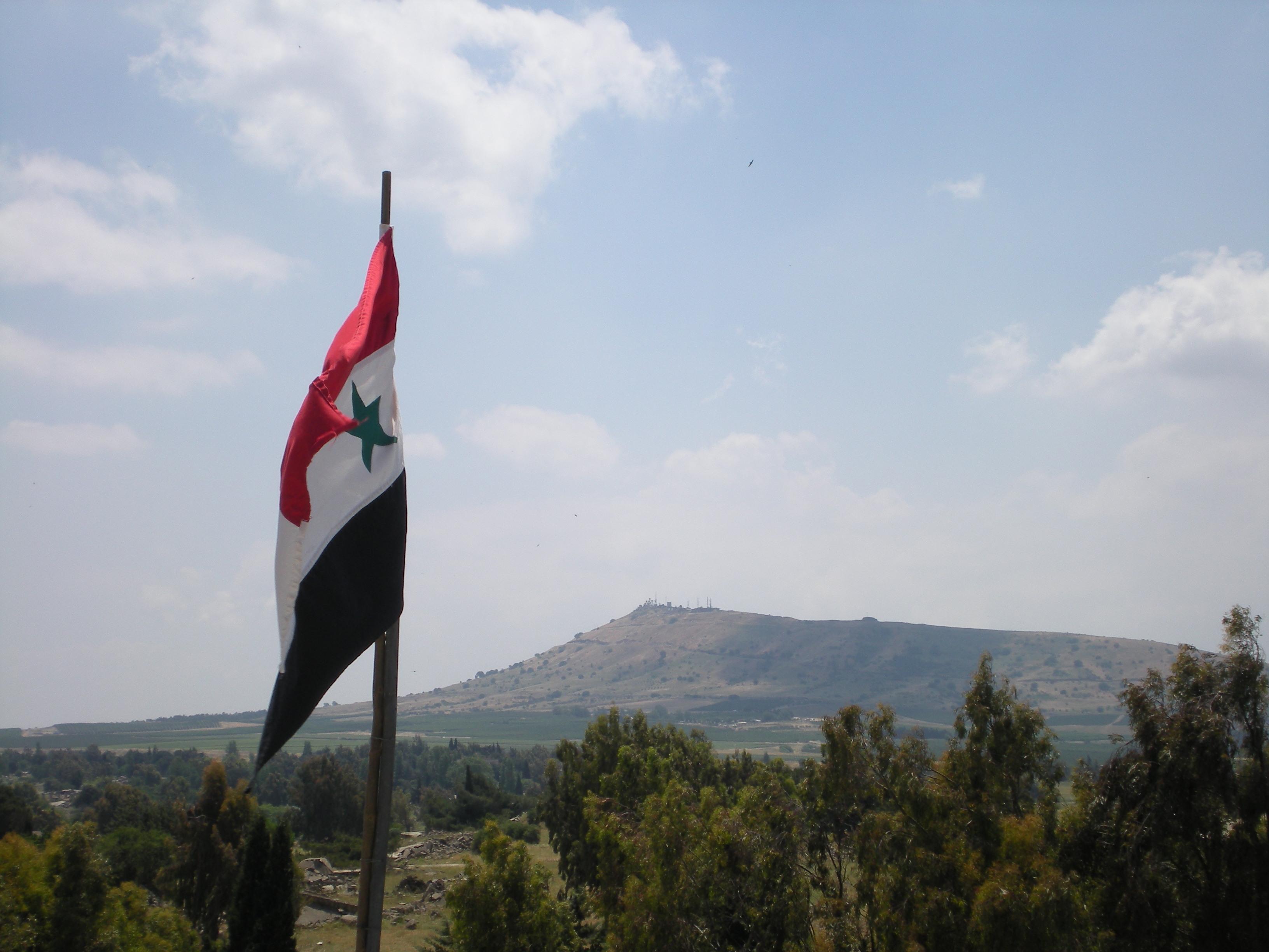 ائتلاف 14 فبراير مؤكّدًا أنّ الجولان عربيّ: لن يكون بحال من الأحوال تابعًا للكيان الصهيوني الغاصب