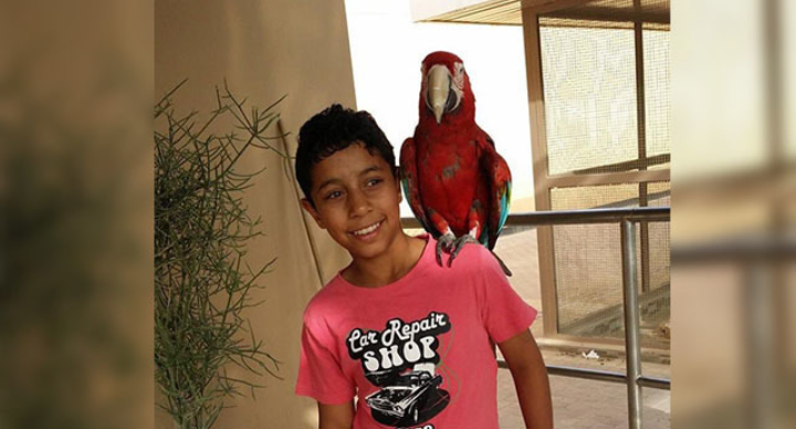 قلق على مصير الطفل المعتقل عبد الله جعفر عبد النبي