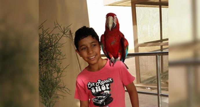 بعد 12 يومًا من العزل في الانفرادي.. الطفل المعتقل «عبد الله جعفر عبد النبي» يتّصل بعائلته
