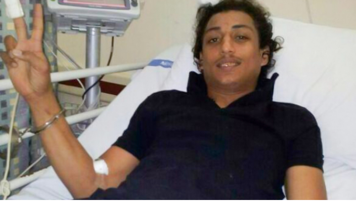 Mohammed al-Dakqaq who suffers a severe sickle-cell anemia is prohibited  from visits after being transferred to solitary confinement