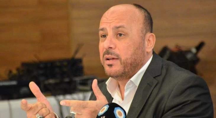 ممثل حركة المقاومة الإسلامية حماس في لبنان «أحمد عبد الهادي» يشيد بالحراك الميداني البحرانيّ الرافض للتطبيع