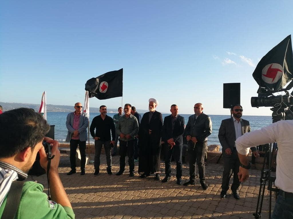 المكتب السياسي لائتلاف 14 فبراير يظّم وقفة تضامنيّة مع أسرى البحرين وفلسطين