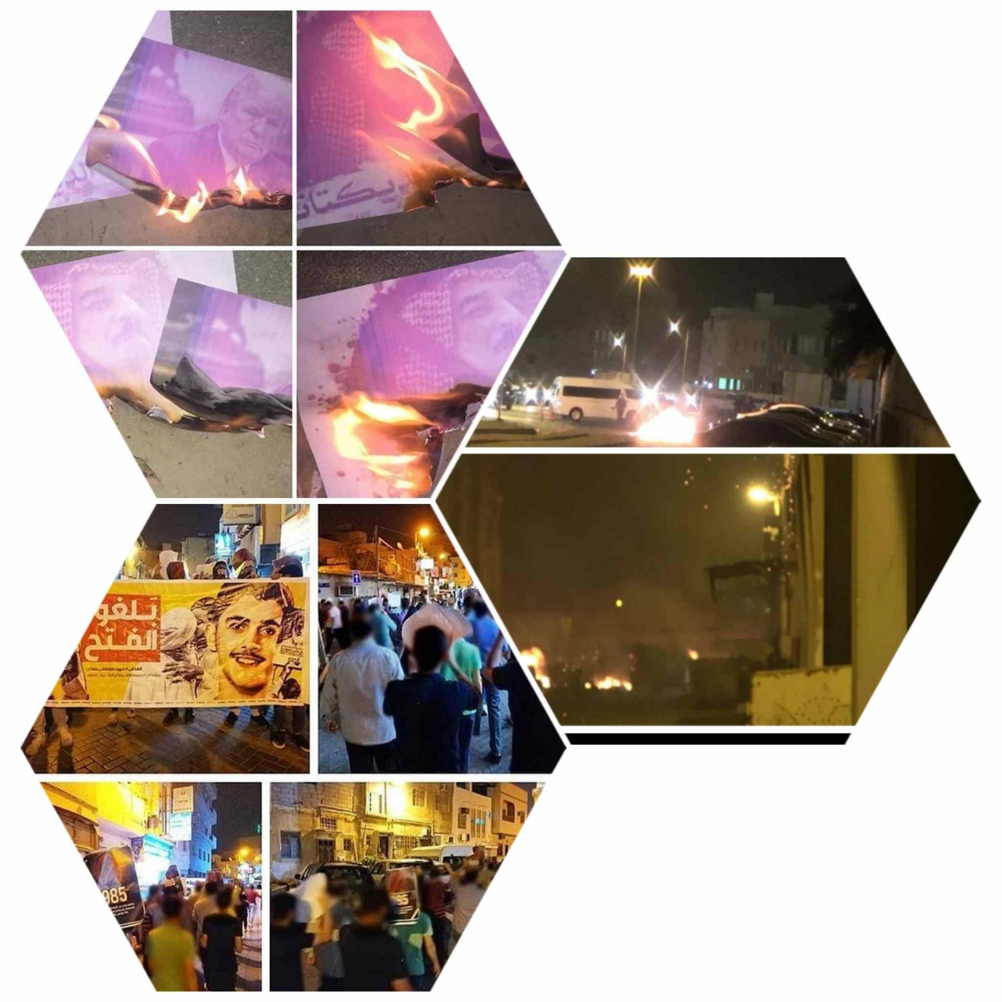 حراك غاضب يعمّ البلدات عشيّة «اليوم الوطني لطرد القاعدة الأمريكيّة من البحرين»