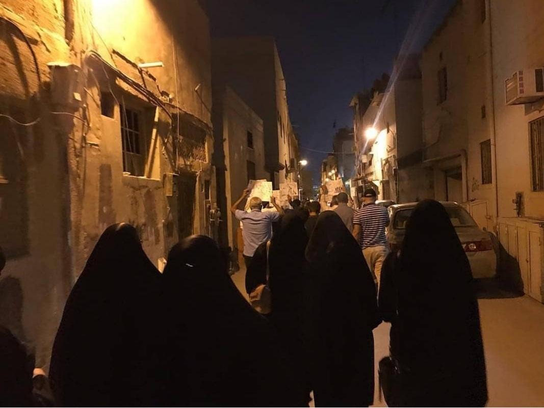 مناطق البحرين تشهد تظاهرات ثوريّة في يوم «عيد العمال»