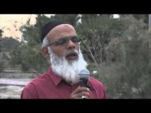 Embedded thumbnail for كلمة الحاج مجيد صمود عند روضة الشهيد سيد هاشم فى ذكري ميلاده الشريف #BAHRAIN