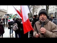 Embedded thumbnail for مقابلة مع حسين والدكتور سعيد في اعتصام دوانينق ستريت